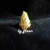 แหวนถมทอง หน้ากว้าง 2*4 cm. โดย เครื่องถมนคร by green
