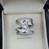 พร้อมส่ง Diamond Ring งานเพชร CZ แท้ แหวนเซตมี 3 วง