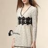 ชุดเดรสเกาหลี พร้อมส่งVanilla Luxury Lace Dress