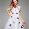 ชุดเดรสเกาหลี พร้อมส่ง3D Butterfly Luxury Dress