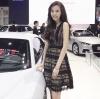 ชุดเดรสแฟชั่นพร้อมส่ง VRT Dress เดรสลูกไม้สีขาวและดำ