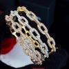 พร้อมส่ง Diamond Bracelet กำไลเพชรงาน 3 กษัตริย์ สีเงิน/ทอง/พิ้งโกลด์ สวยมากกกกก