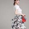เสื้อผ้าเกาหลี พร้อมส่งงานเซตสุดเก๋ ดีไซน์งานผ้าpolyester+silk100%