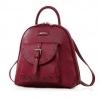 Brand :: Axixi แท้ 100% รุ่นเป้เป๋าหน้าเล็กฉลุลายอยากได้เป๋าเป้ซักใบ งานดี ลุยๆได้ไม่กลัวเปรอะเปลื้อน แนะนำรุ่นนี้เลยคร่า สี :: สีแดง น้ำตาล น้ำเงิน ขนาด : กว้าง 27.5 CM สูง 28 CM หนา 12 CM. วัสดุ : PU / หูหิ้วสูง 12 CM. ราคา 1290 บาท
