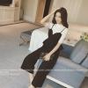 เสื้อผ้าเกาหลี พร้อมส่งset เสื้อและกางเกงสุดสวย ผ้าเนื้อนิ่ม ยืดหยุ่นได้ ทิ้งตัวสวยมาก