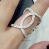 พร้อมส่ง Chanel Diamond Ring งานเพชร CZ แท้