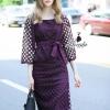 เสื้อผ้าเกาหลี พร้อมส่งaristocrat hollow luxury lace top pretty skirt set