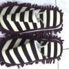 MS2501 รองเท้าถูพื้น ไมโครไฟเบอร์ Microfiber slipper ลายทาง 27 cm