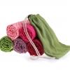 (พรีออเดอร์) ผ้ารองโยคะ ปุ่มกันลื่น PVC ลายดอกไม้ YK7011P ไซต์S