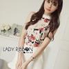 เสื้อผ้าเกาหลี พร้อมส่งLady Emily Floral Printout set