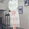 ชุดเดรสเกาหลี พร้อมส่งVanely Ivory ShirtDress