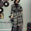 เสื้อผ้าเกาหลี พร้อมส่ง โค๊ทตัวยาวจากแบรนด์ Chanel