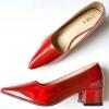 องเท้าหัวแหลมสีปรอทสุดแซ่บ Style Zara ใส่แล้วเท้าดูขาวเรียวยาว ส้นสูง 1.5 นิ้ว ใส่