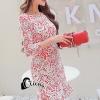 ชุดเดรสเกาหลี พร้อมส่งJenny Luxury Lace Dress