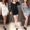 เสื้อผ้าเกาหลี พร้อมส่งWinter Fall Sensual Set