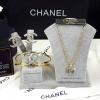 พร้อมส่ง Chanel Bangle + Necklace + Earring งานชุบ 5 ไมครอนเต็ม