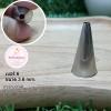หัวบีบครีม/หัวบีบเกาหลี เบอร์ 6 (Round tip)