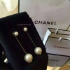 พร้อมส่ง ต่างหู Chanel รุ่นมุกงานโซ่
