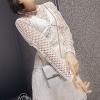 ชุดเดรสเกาหลี พร้อมส่งCrystal White Luxury Self Portrait Stilysh Lace Dress