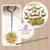 พิมพ์ขนมดอกจอก ทองเหลือง เบอร์2 ( 9 เซน)