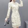 ชุดเดรสเกาหลี พร้อมส่งGolden Princess Luxury Dress