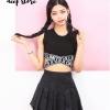 เสื้อผ้าเกาหลีพร้อมส่งBaby Boob เสื้อ Style Street Girl