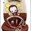 ชุดหุ้มเบาะลาย Monkey Mexi (สีครีม-น้ำตาล)