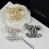 พร้อมส่ง เข็มกลัด Chanel งานเพชร CZงานฝังสวยมากกกก