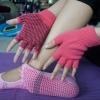 (พรีออเดอร์) ถุงมือ ถุงเท้าโยคะ กันลื่น YKSM30-24