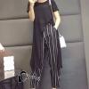 เสื้อผ้าเกาหลี พร้อมส่งStylish Luxury Top + Pant Set