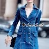เสื้อผ้าแฟชั่นเกาหลีพร้อมส่ง Rassly Zippy Girly Denim DressSuit