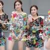 เสื้อผ้าเกาหลี พร้อมส่งSummer Color Flora Lovely Playsuit
