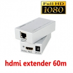 hdmi extender ใช้ สาย lan cat 5e-6 ต่อยาวได้ถึง 60m รุ่นใหม่