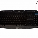 signo Gaming media Keyboard usb kb-719 thaiอังกฤษ มีไฟ3สี -black