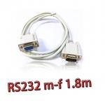 สายserial RS232 comport DB9 Male Female 1.5m -white