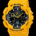 GShock G-Shockของแท้ ประกันศูนย์ GA-100A-9A ThankYouSale จีช็อค นาฬิกา ราคาถูก ราคาไม่เกิน สี่พัน