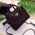 """Prada safino mini 7"""" มีสายสะพายยาวน่ารักมั่กๆๆ หนังลายคมชัดเหมือนของแท้ เกรด hi-end (งานสั่งทำ) อุปกรณ์ กล่อง+การ์ด+ถุงผ้า ราคา 3,590.-"""