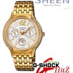 CASIO SHEEN นาฬิกาข้อมือSHEEN รุ่น SHE-3030GD-7A