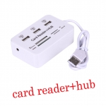 usb 2.0 hub with card reader combo Multi