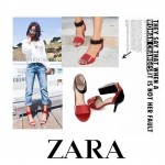 NEW COLLECTION ZARA ANKLE STRAP HIGTH HEELS