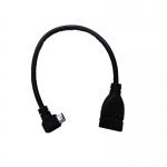 สาย USB micro OTG ต่อ Flashdriveกับ Smartphoneแบบหัวงอ