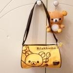 กระเป๋าสะพาย ทรงกระบอก Rilakkuma