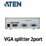 ATEN VGA Splitter 1คอม ออก 2จอ -Silver
