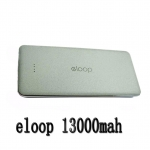 Eloop แบตเตอรี่สำรอง 13000mAh รุ่น E13 ของแท้- สีเทา
