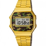 นาฬิกาข้อมือผู้หญิงCasioของแท้ A-168WEGC-3DF