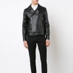เสื้อแจ็คเก็ตSaint Laurent Moto Leather Jacket 1:1