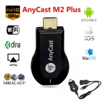 hdmi dongal wifi display receiver anycast m2plus เล่นผ่าน3Gได้