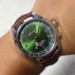 นาฬิกา Seiko Automatic สายหนังจระเข้ รุ่น (JDM) Made In Japan Alpinist Mechanical Watch SARB017