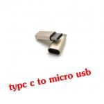 หัวแปลงtype-c 3.1 to micro usb 2.0 converter adapter