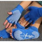 (พรีออเดอร์) ถุงมือ ถุงเท้าโยคะ กันลื่น YKSM30-51